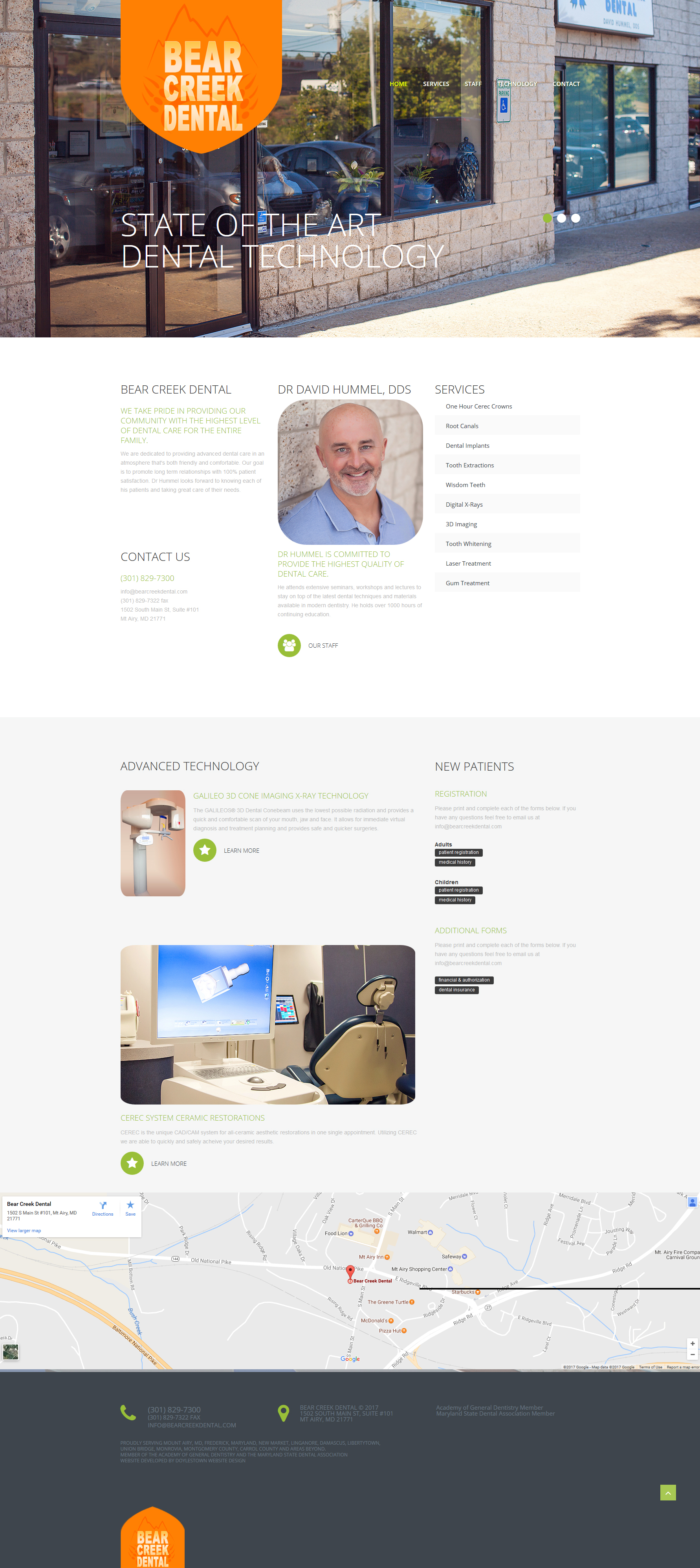 build dental websites for dentists